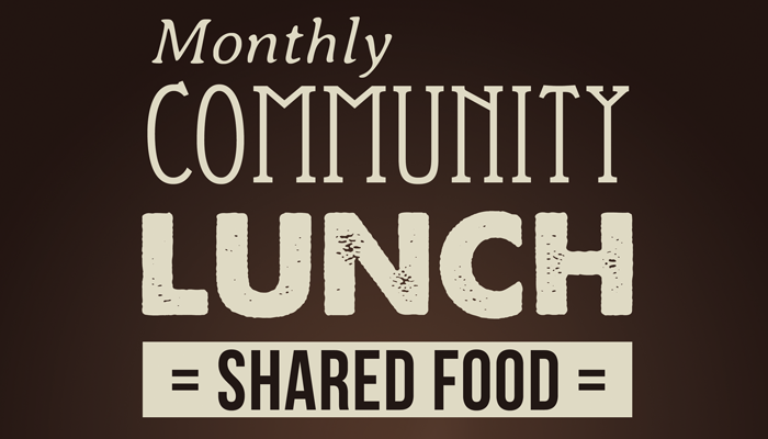 Monthly Community Lunch